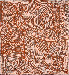 Lorna Brown NAPANANGKA_Sans titre #aboriginal #aborigene #contemporain