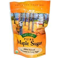 Organic Pure Maple Sugar - Pure maple sugar is prized for its unique, rich sweetness. Unlike highly processed white sugar, maple sugar contains naturally occurring minerals like potassium and calcium.