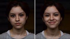 """liseli 18yaşındaki Shea Glover insanlara """"çok güzelsin"""" dedikten sonra değişen yüz ifadelerini fotoğraflamış. :)"""