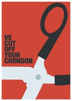 The Big Lebowski A3 Art Print (Chonson). $20.00, via Etsy.