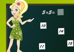 JuegosPolly.com - Juego: Matemáticas Polly - Jugar Gratis Online