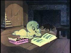 Ghost Casper for kids Halloween party - YouTube