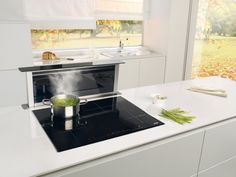 Hotte de cuisine escamotable dans le plan de travail - DFA9525X - gorenje
