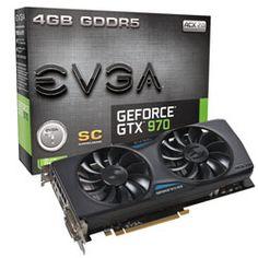 [VGAMOB]Evga Geforce Nvidia Gtx 970 4gb DDR5 256BITS - R$1278