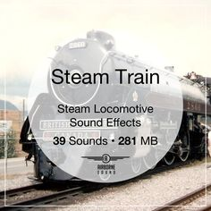 39 rare Royal Hudson steam train field recordings in 280 MB. Features engine riding, rail clatters, huffing locomotive passes, and shrieking steam whistles and blasts. Sound Library, Steam Locomotive, Whistles, Libraries, Engine, Motor Engine, Library Room, Bookcases