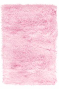 Faux Sheepskin Area Rug