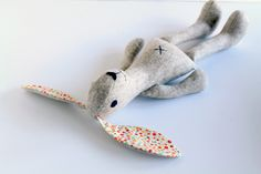 Easy bunny rabbit sewing pattern