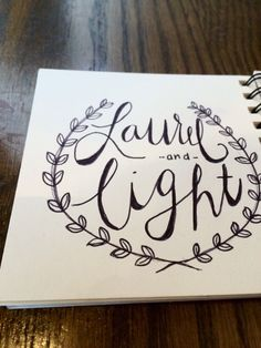 Everyone follow @laurel_and_light on Instagram!!!