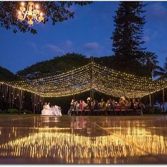 Excited to share this beautiful twinkle light canopy we created from a recent event!! Custom sizes available, contact us for more info!! #Repost @mauisangels ・・・ What do you think of this twinkle light canopy? We are in love!! ❤️ Perfectly done by @hawaiianrents for a recent Maui's Angels Wedding at the Olowalu Plantation House!! Image courtesy of @dannydong