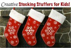 36 Creative Stocking Stuffer Ideas for Kids! via TheFrugalGirls.com #Christmas