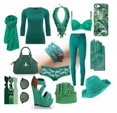 """Emerald"" by luvbuzzhandmade on Polyvore featuring M&Co, Paul by Paul Smith, Topshop, STELLA McCARTNEY, Vivienne Westwood, Helene Zubeldia, Ray-Ban, Uncommon, Toast and Bottega Veneta"