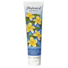 Hawaiian Plumeria Body Lotion - Perfumes of Hawaii - 4.0 OZ (Misc.)