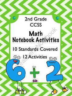 Interactive Math Notebook 2nd Grade CCSS