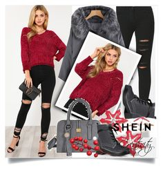 """""""SHEIN X/6"""" by creativity30 ❤ liked on Polyvore featuring shein"""