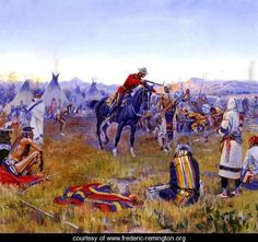 Single Handed - Frederic Remington - www.frederic-remington.org