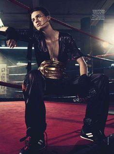 Glamorous Boxing Editorials : Vogue Australia September 2013