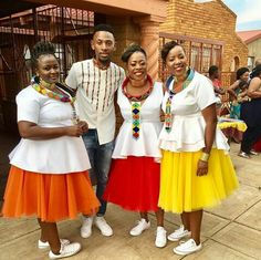 African Clothes, African Dress, Pedi Traditional Attire, African Weddings, African Prints, Weeding, African Fashion, Inspiration, Outfits