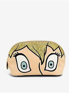 388a3939578b Danielle Nicole Disney Tinker Bell Eyes Makeup Bag