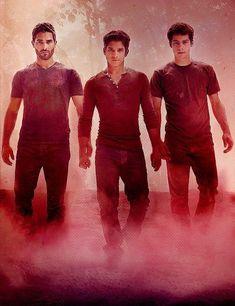 The 3 Original Boys of Teen Wolf: Dylan O'Brien & Tyler Posey & Tyler Hoechlin