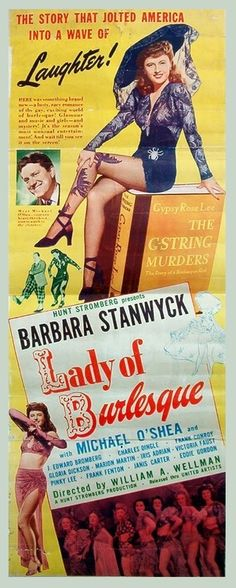 Lady of Burlesque, movie poster