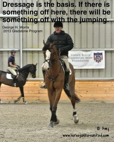 George Morris: Dressage Is the Basis...