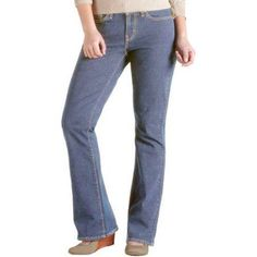 Signature by Levi Strauss ; Co.; Women's Curvy Boot Cut Jeans, Size: 18