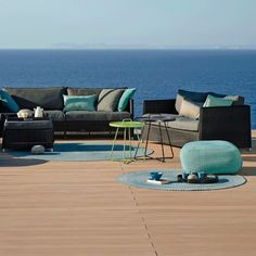 Defined Outdoor Rug Round by Cane-Line Having the right accessories for a given space can work wonders with pulling together the look of the arrangement; and the Defined Outdoor Rug, Round does so with its simple and pleasant design.