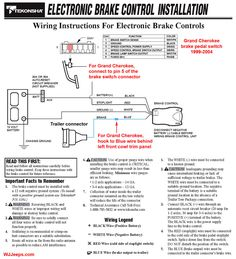 trailer wiring diagram electric brakes 2001 dodge alternator wire color code tekonsha prodigy brake controller shows sh p3