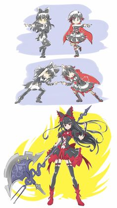 Blake + Ruby= Rory Mercury