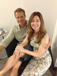 Mark Valley and Dana Delany.