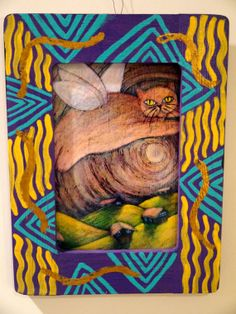 Cat Fairy hand painted print di SWBSTUDIO su Etsy, $24.00