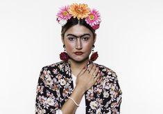 Convocamos o beauty artist Raffa Souzza pra criar um make inspirado na artista mexicana