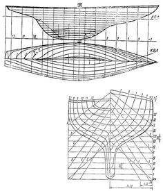 Теоретический чертеж Л6