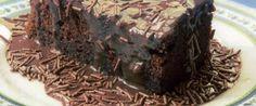 Foto - Receita de Bolo de Chocolate Molhadinho