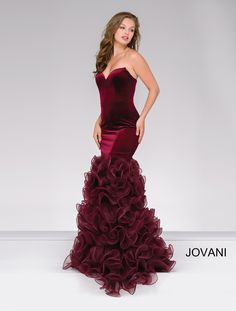 While we can't help you find your dream date, WhatchamaCallit Boutique has your dream dress. Check out Jovani Style 46609 today