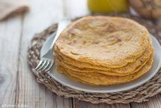 Ricetta a cura di Polvere di Riso delle Crepes di Zucca. Una ricetta base che si presta a mille varianti, ideali da mangiare farcite con prosciutto e...