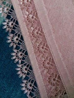 Most Beautiful Needlework Embroidered Models Crochet Borders, Crochet Chart, Crochet Motif, Knit Crochet, Baby Knitting Patterns, Crochet Patterns, Hand Embroidery Dress, Hairpin Lace, Point Lace