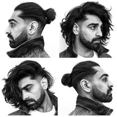Long hair isn't just for hippies and metalheads anymore. It can be a stylish and sophisticated look. From chin length on down, these are the best men's hairstyles for long hair. Of course, the most popular Man Bun Hairstyles, Cool Hairstyles For Men, Haircuts For Long Hair, Haircuts For Men, 1940s Hairstyles, Men's Haircuts, Modern Haircuts, Popular Haircuts, Prom Hairstyles