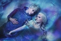 Jack & Elsa? Digital art selected for the Daily Inspiration #1806 on Abduzeedo.com