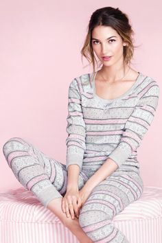 PJamas - got them this weekend! Best Pajamas, Pajamas All Day, Pyjamas, Pjs, Full Support Bras, Pajama Party, Lounge Wear, Designer, Winter Fashion