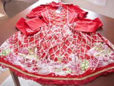 b36840ee815d Bodyline Red Military Sweets OP NWT « Lace Market: Lolita Fashion Sales and  Auctions Fashion