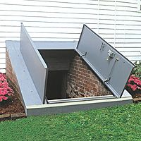 Unique Basement Storm Shelter Doors