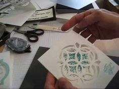 ▶ Lattice Die inside the Framelits Window frenchiestamps.com - YouTube