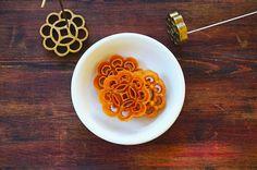 Seasaltwithfood: Honeycomb/Rose Cookies