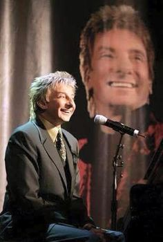 Barry Manilow at the old LV Hilton now called the Westgate.