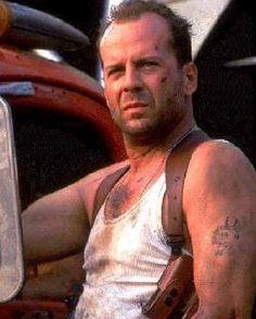 Bruce Willis retro