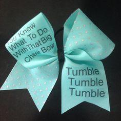 pics of cute cheer bows - Google Search