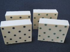 how to make polka dot soap using straws