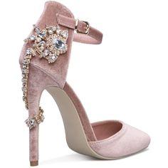 Valerie embellished heels