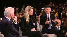 President Clinton speaks with Elizabeth Holmes and Jack Ma (2015 CGI Ann...